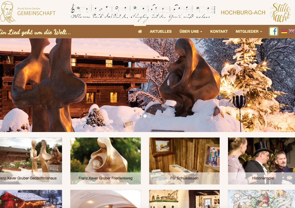 NEUE Homepage!