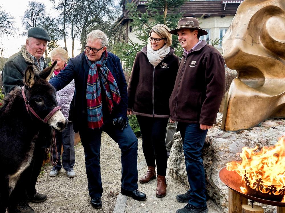Harald Krassnitzer zu Besuch in Hochburg Ach