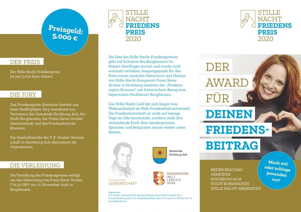 Friedenspreis 2020