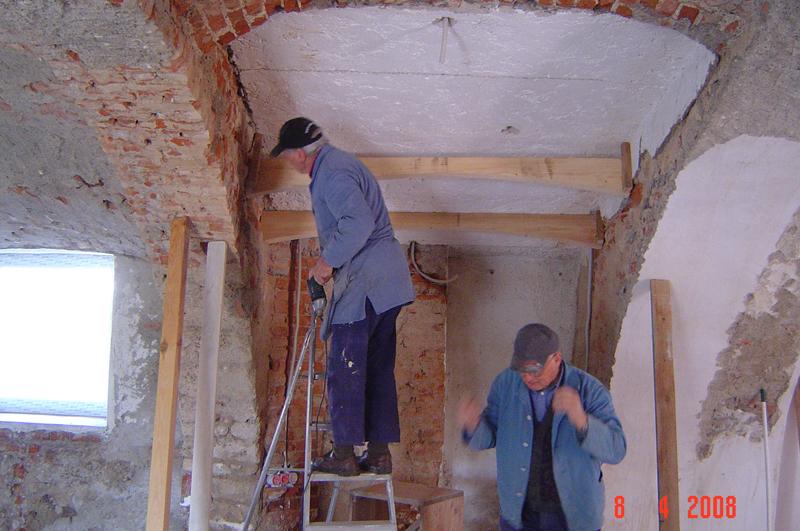 Renovierung Gewölbe