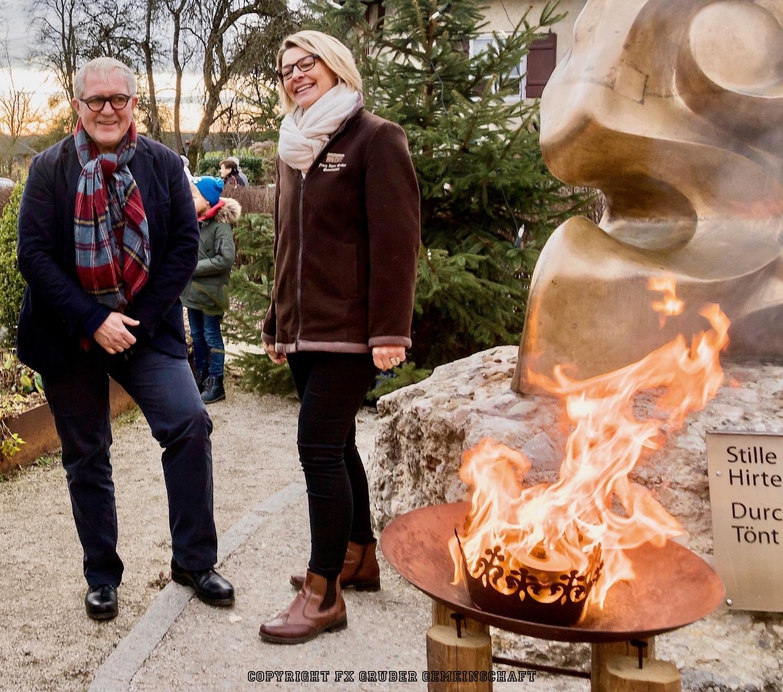 Harald Krassnitzer zu Besuch